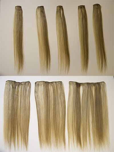 ClipSet-CLPQHH Clip-in Extension Premium Human Hair 8 Piece Set 16 Inches Long
