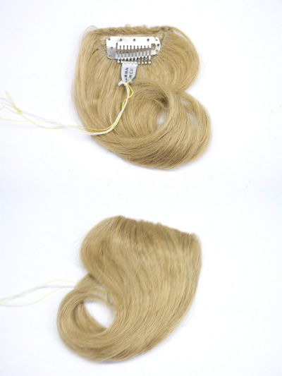 Clip On Straight Premium Human Hair 6 inches Long
