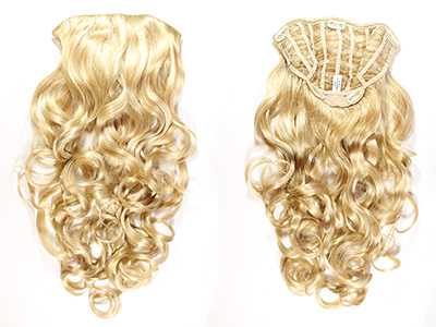 "Venus Clip ""N"" Go  1 Piece Premium Quality Fiber 26 Inches long"
