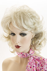 Wigs In Pale Beige Blonde 105