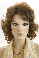 Wigs In Pale Beige Blonde 100