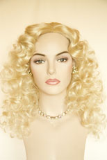 Wigs In Pale Beige Blonde 9
