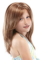 Ashley Long Jon Renau Juniors Straight Blonde Brunette Red Grey Wigs