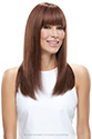 Lea Medium Premium Remy Human Hair Monofilament Hand Tied Jon Renau Straight Blonde Brunette Red Grey Wigs
