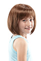 Shiloh Medium Jon Renau Juniors Straight Blonde Brunette Red Grey Wigs