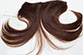 Attach-A-Piece WEFT18 9 Inches Long Short Wavy Straight Blonde Brunette Red Grey Clip On Pieces Integration Weft Hair Pieces