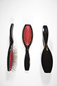 Purse Brush No Tips By Jon Renau Medium Jon Renau Wavy Brunette Accessories
