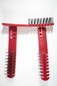 Ventilated Wig Brush By Jon Renau Medium Jon Renau Straight Red Accessories