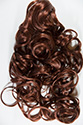 DELANIE (CLAW CLIP) Long Wavy Curly Blonde Brunette Red Grey Clip On Pieces Claw Clips Hair Pieces