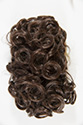 DM33 Claw Clip Curly 7 Inches Long Short Wavy Curly Blonde Brunette Red Claw Clips Hair Pieces