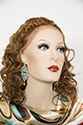 Athena WB Long Medium Lace Front Wavy Curly Brunette Red Wigs Braids