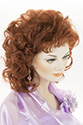 Marla Long Medium Wavy Curly Blonde Brunette Red Wigs
