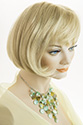 Frankie Short Skin Top Straight Blonde Brunette Red Wigs