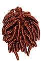 Elka Drawstring Long Medium Curly Blonde Brunette Red Drawstring Hair Pieces