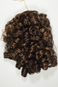 Lexie Draw String Medium Curly Brunette Red Drawstring Falls Wiglet Hair Pieces