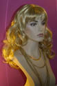 Rotha Long Blonde Red Wavy Curly Wigs