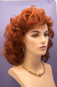 Marla Long Medium Length Blonde Brunette Red Wavy Curly Wigs