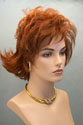 Kiki Medium Length Lace Front Red Wavy Wigs