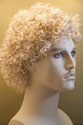 Robin Medium Curly Blonde Brunette Red Grey Men Wig