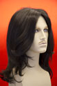 Michael-Jackson Medium Straight Brunette Costume Wigs Men Wig