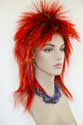 Halloween F876 Long Medium Straight Costume Fun Color Wigs