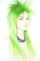 Elvira Long Straight Costume Fun Color Wigs