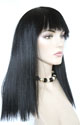 Cleo-x Long Medium Straight Brunette Costume Wigs