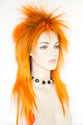 Halloween F877 Long Straight Costume Fun Color Wigs