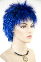Spike Medium Straight Costume Fun Color Wigs