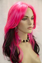 Calypso Long Straight Costume Fun Color Wigs