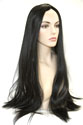 Witch Long Straight Brunette Costume Wigs