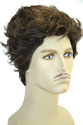 Logan Medium Wavy Straight Brunette Costume Wigs Men Wig