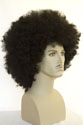 Afro XL Long Curly Brunette Fun Color Wigs Men Wig