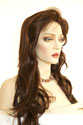 Tiffany Long Straight Blonde Brunette Red Wigs