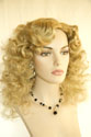 Dolly Long Medium Skin Top Curly Blonde Brunette Red Grey Wigs