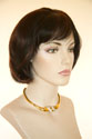 April G Short Straight Brunette Wigs