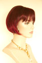 Jessica Medium Short Skin Top Wavy Straight Blonde Brunette Red Wigs