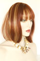 Maxine Medium Skin Top Wavy Straight Blonde Brunette Red Wigs