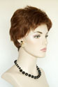 Selena G Short Pixie Wavy Straight Blonde Brunette Red Wigs