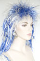 PC28 E Medium Short Wavy Straight Costume Fun Color Wigs