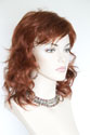 Charlie G Medium Wavy Blonde Brunette Red Wigs