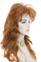 Rose G Long Wavy Blonde Brunette Red Wigs