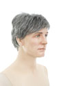 Mark Medium Straight Brunette Grey Men Wig