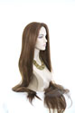 Godiva Long Skin Top Straight Blonde Brunette Red Grey Wigs