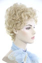 Petite Effie Short Wavy Curly Blonde Brunette Red Grey Wigs