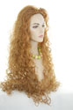 Electra Long Wavy Curly Blonde Brunette Red Wigs
