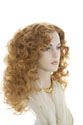 Delihla Long Wavy Curly Blonde Brunette Red Wigs
