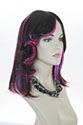 Winnie Medium Skin Top Wavy Straight Brunette Red Costume Fun Color Wigs