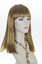 Kapuki Long Medium Straight Blonde Brunette Red Wigs