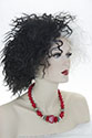 Cruel Lady Medium Short Curly Costume Fun Color Wigs